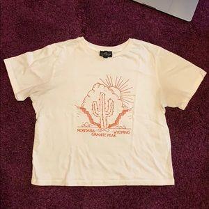 Topshop Graphic Park Cotton T-shirt